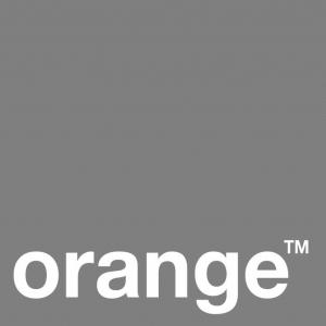 orange bw